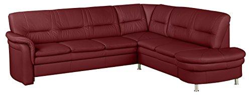 cavadore echtleder sofa cassada mit federkern gro es. Black Bedroom Furniture Sets. Home Design Ideas