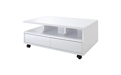 robas lund couchtisch wohnzimmertisch chris hochglanz wei 100 x 60 x 41 cm 58108ww4 m bel24. Black Bedroom Furniture Sets. Home Design Ideas