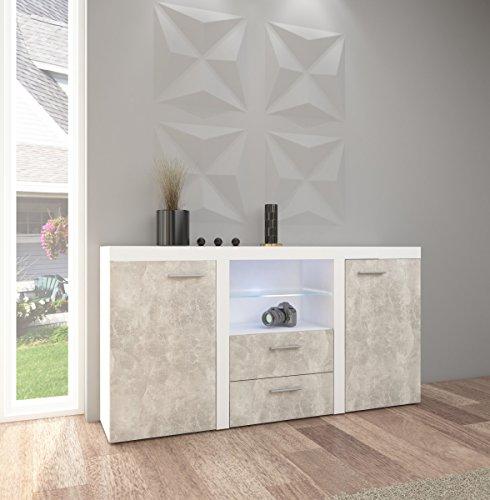 Top kommode sideboard rumba wohnwand wohnzimmer anbauwand for Best moebel24