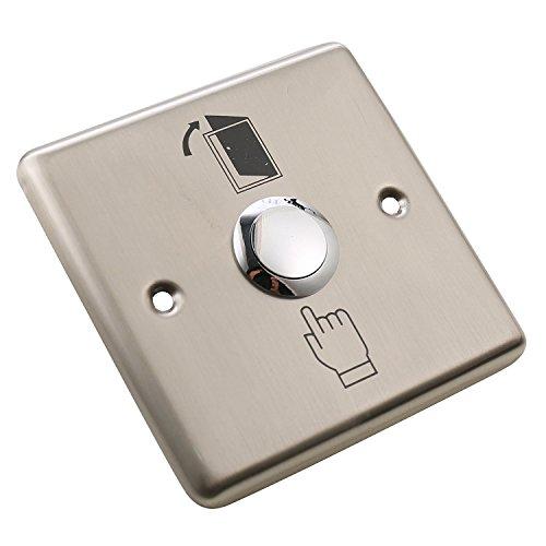 Matee Edelstahl Duschpaneel Push Release Out Exit Button Switch für Hohle Tür