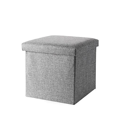 Schemel/Übergroßer Raum Faltbarer tragbarer Speicherhocker/Schuhumkleideraum-Sofabank/Haushaltsfarbiger Quadratischer Schemel