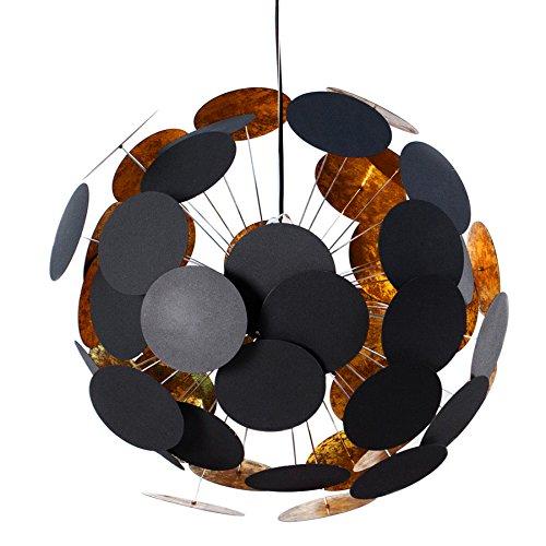 design h ngeleuchte infinity schwarz gold pendelleuchte m bel24 shop. Black Bedroom Furniture Sets. Home Design Ideas