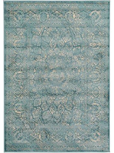 benuta Teppiche Moderner Designer Orientteppich Vintage - schadstofffrei - 100% Polypropylen - Vintage / Patchwork - Maschinengewebt - Wohnzimmer