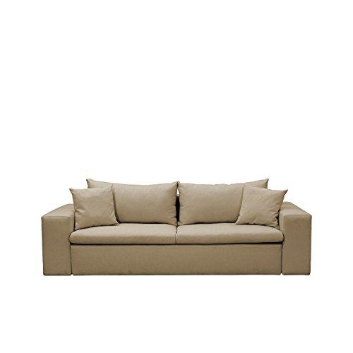 Designer Schlafsofa Ricardo - Schlafcouch, Sofa mit Schlaffunktion, Bettsofa, Lounge Couch, Couch vom Hersteller, Couchgarnitur (Muna 03)