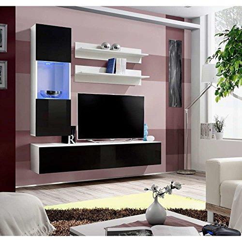 JUSTyou FLI H III Wohnwand Anbauwand Schrankwand (HxBxT): 170x160x40 cm Große Farbauswahl
