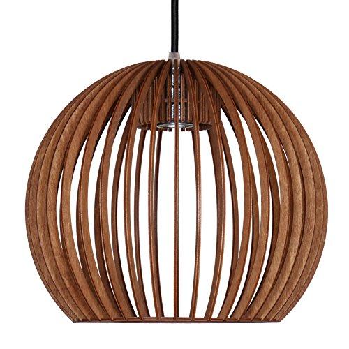 pendelleuchte aus holz moderne designer deckenleuchte viele farben erh ltlich cognac m bel24. Black Bedroom Furniture Sets. Home Design Ideas