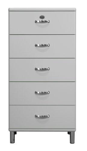 tenzo Kommode Malibu 5115 60 x 111 cm in alu Sideboard