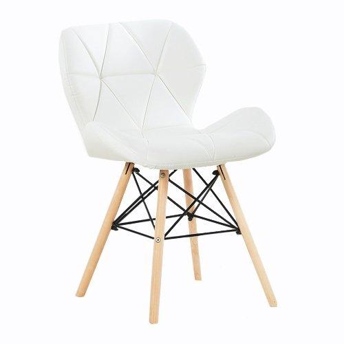 P&N Homewares® Cecilia Eiffel millmead inspiriert Stuhl aus Kunststoff Retro Weiß Schwarz Grau Rot Esszimmerstuhl Büro Stuhl Lounge