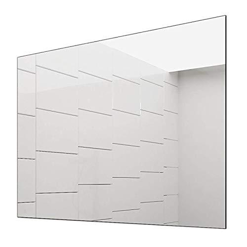 Concept2u Spiegel -Badspiegel -Wandspiegel 5 mm - Kanten fein poliert - inkl. verdeckter Halterungen quer oder hochkant Montage möglich