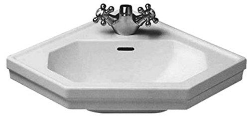 Duravit Waschbecken 1930-Ecksofa 60cm weiß