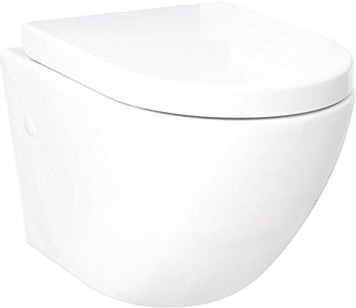 LAVITA KERAMIK HÄNGE-WC-TOILETTE #92035 SPÜLRANDLOS + SOFT-CLOSE